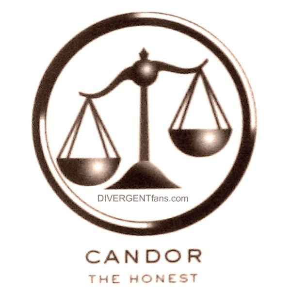 divergent faction symbols candor 1 the state or