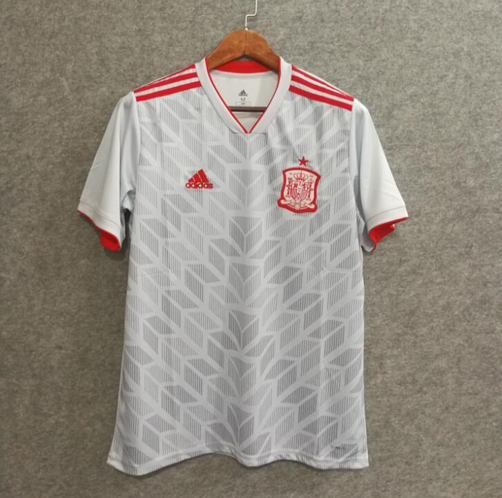 67a8d39f618 2018 Men Spain Jersey Stadium Away Soccer Jersey World Cup Jersey Fanatics