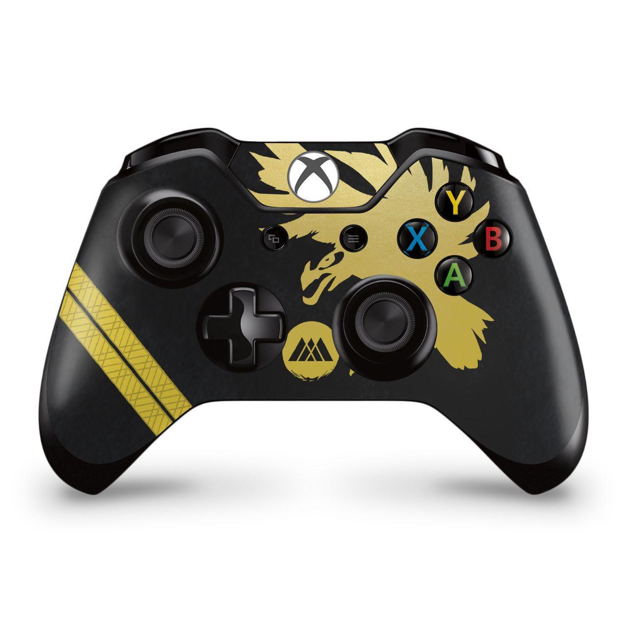 Warlock Phoenix Stripes Xbox Controller Skin Destiny 2 Theme Fan Art Xbox One Controller Xbox One Xbox