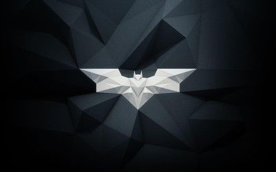 Polygon Batman logo wallpaper | Art | Batman wallpaper