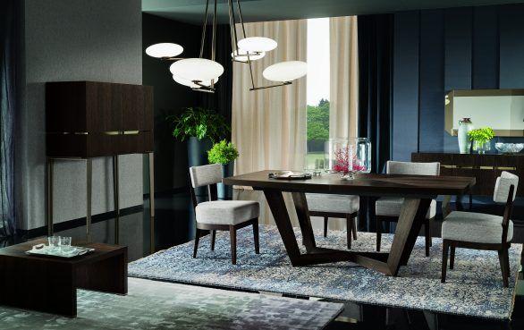 Contemporary Dining Room Sets Italian alf italia - accademia dining table - italian made furniture | alf