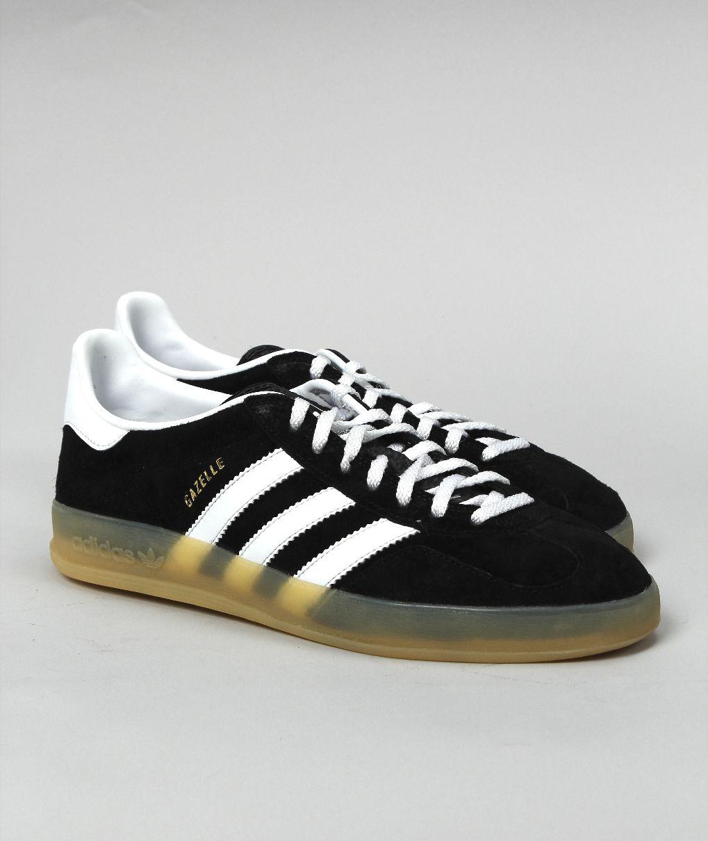 Adidas Gazelle Black Gum Sole | Adidas