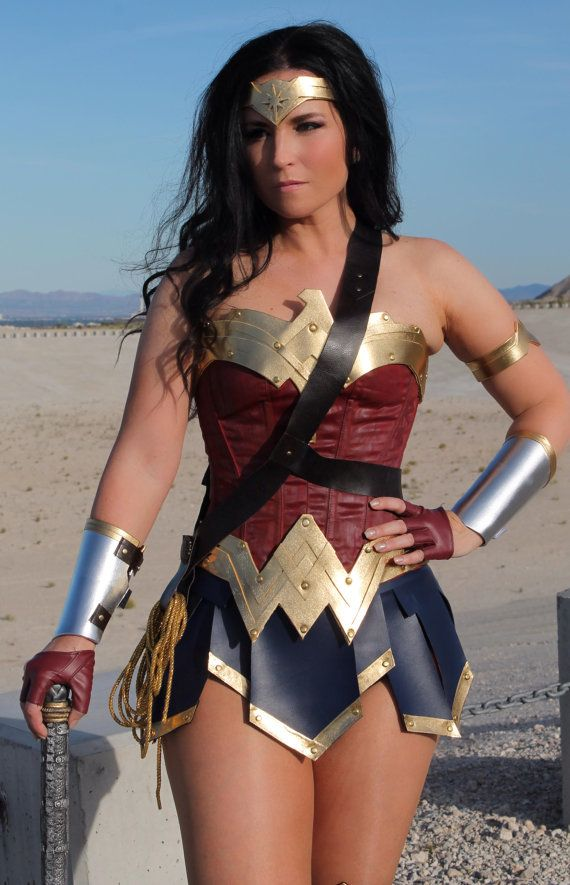 briefs,skirt custom made to fit wonder woman corset costume with hotpants