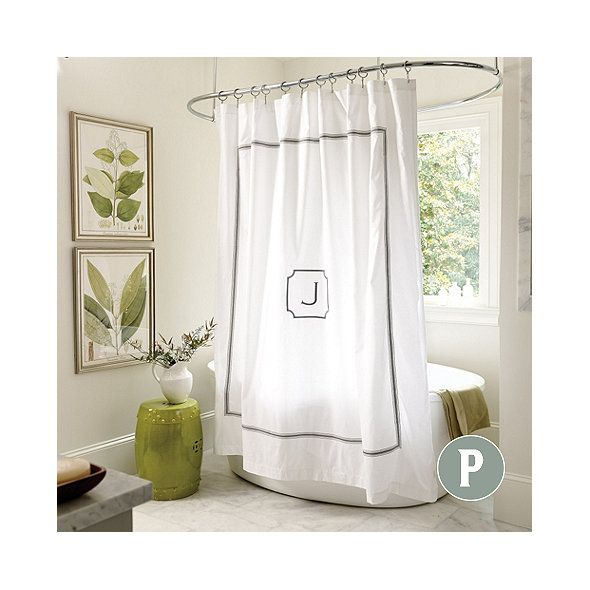 Matching Bedroom And Bathroom Sets: Amelie Embroidered Shower Curtain