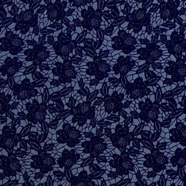 Astek Shadows On The Wall Dark Purple Floral Silver Wallpaper 62 Liked