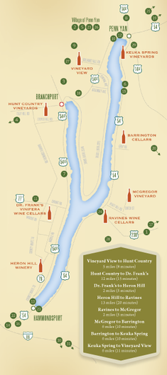 Keuka Lake Wine Trail | Lodging and Restaurants | Home-Central New on map of keuka lake upstate new york, finger lakes wineries, map of cayuga seneca winery, map of keuka lake area,