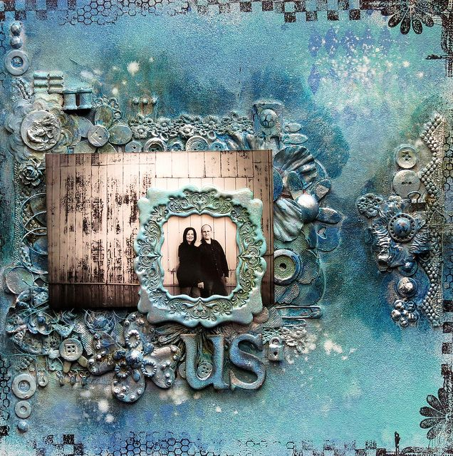 Inspired by Finnabair - Us by marieetmichael, via Flickr