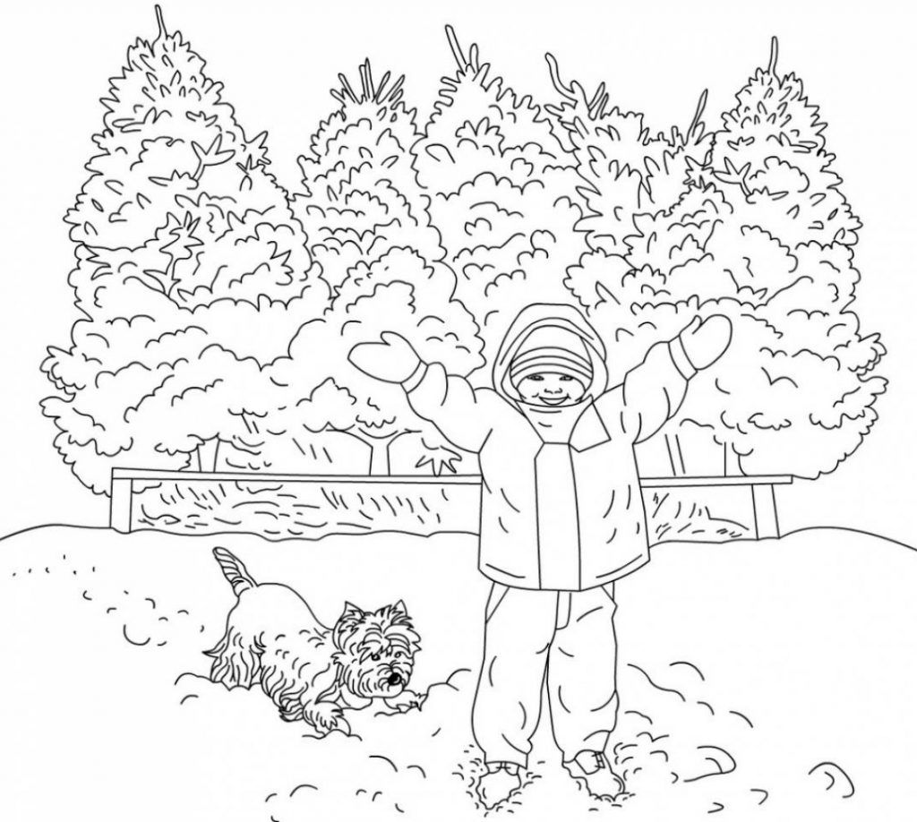 48+ Printable winter coloring pages for adults info