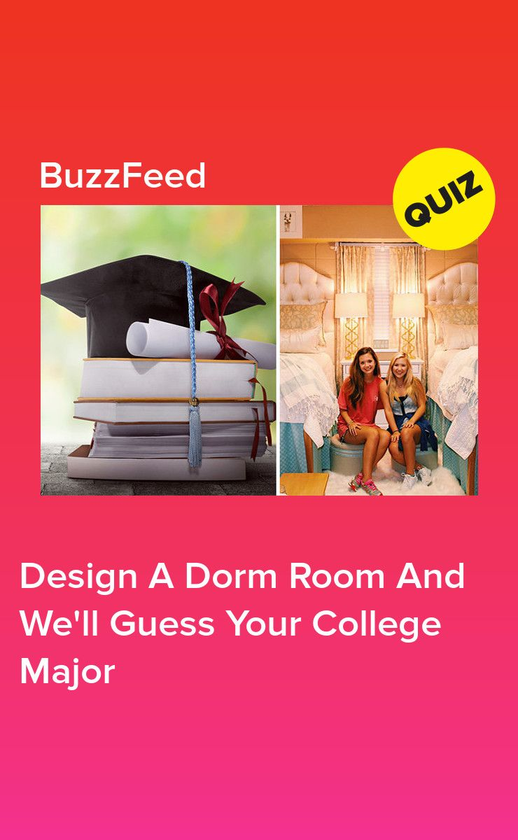 Decorate Your Dream Dorm Room And We'll Guess Your College Major