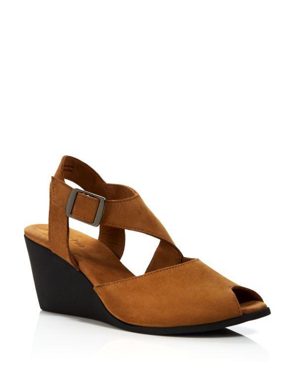 arche Wedge Sandals - Egwaro Asymmetrical