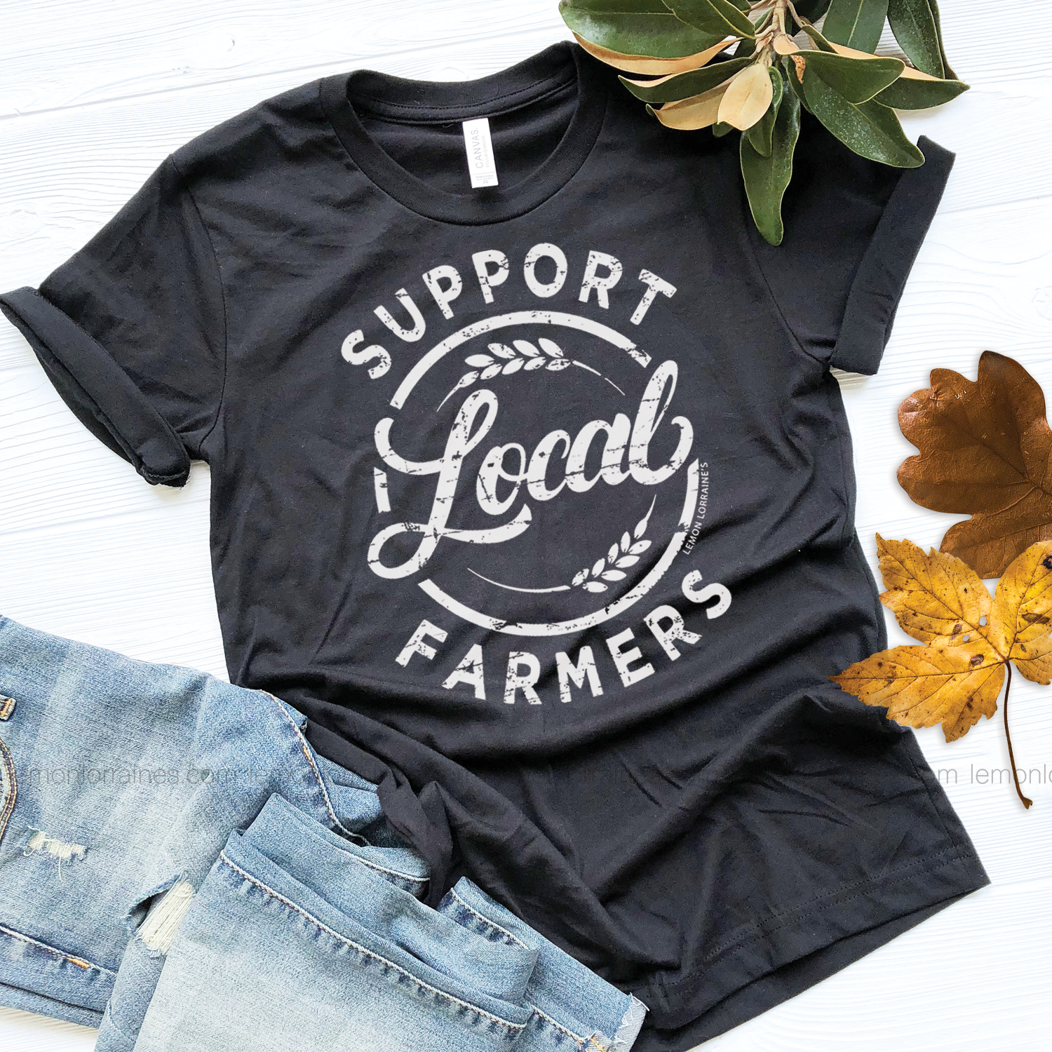 d840e163 Graphic Tee {SUPPORT LOCAL FARMERS} | Products | Graphic tees ...