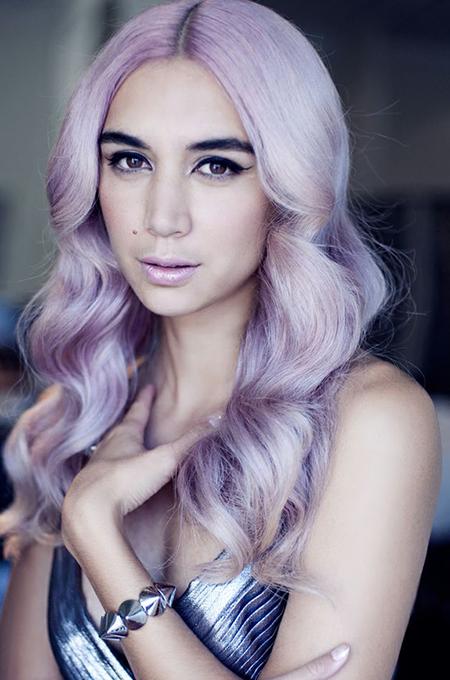 pastell lila haare farbe haarfarbe ideen pinterest