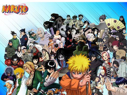 Naruto Main Characters Anime Naruto Shippuden Characters Naruto Characters