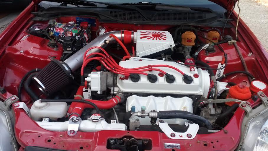 My Honda Civic Engine Bay Honda Civic Engine Honda Civic Hatchback Honda Civic Coupe