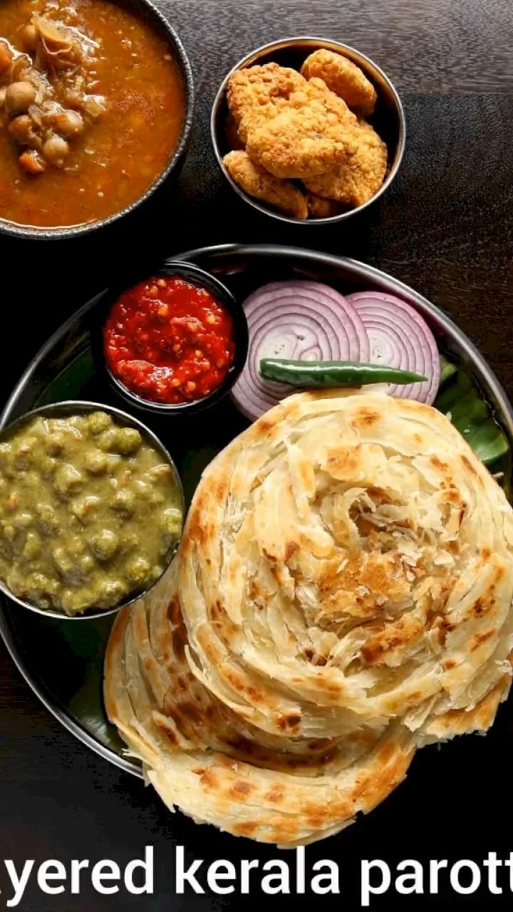 parotta recipe | kerala paratha recipe | malabar p