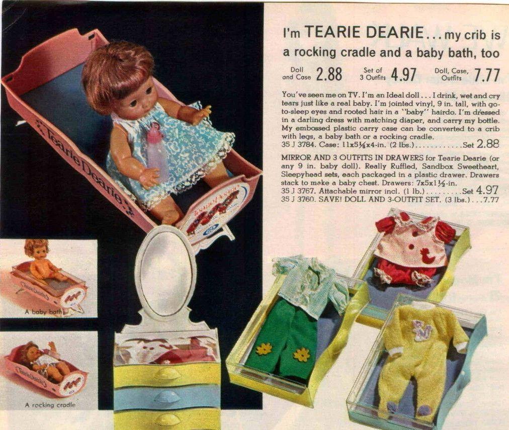 1965 Spiegel Tearie Dearie Vintage Dolls Baby Dolls Dolls