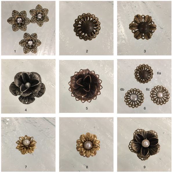 Corner Rosettes For Our Antique Mirror, How To Use Mirror Rosettes