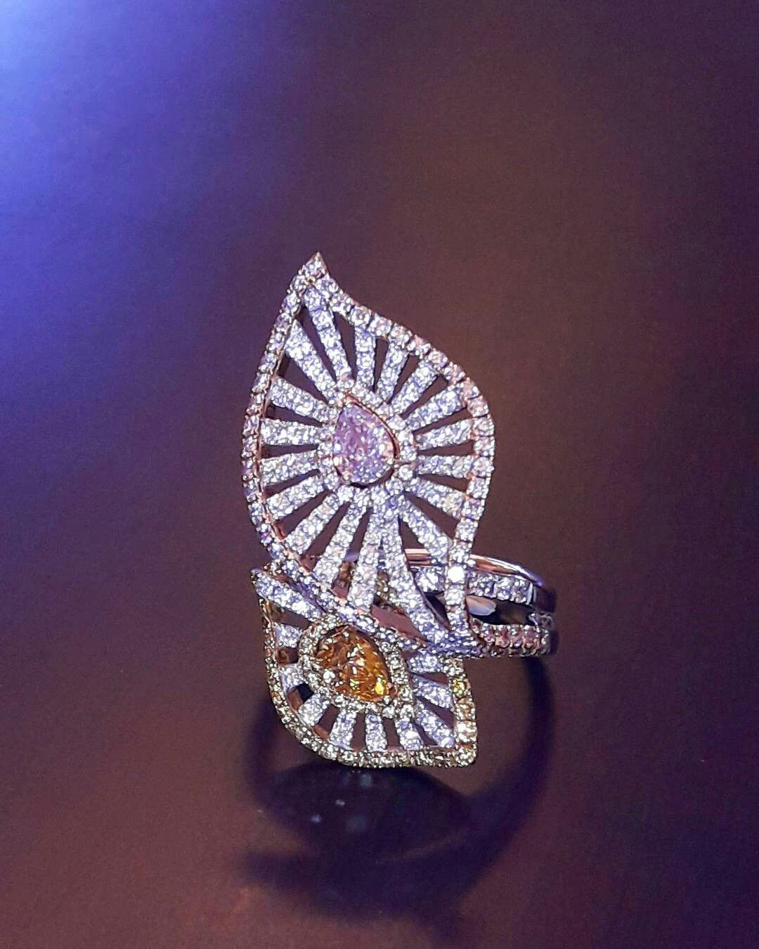 pinkdiamond #heart #diamond #colordiamond #ring @primagems_official