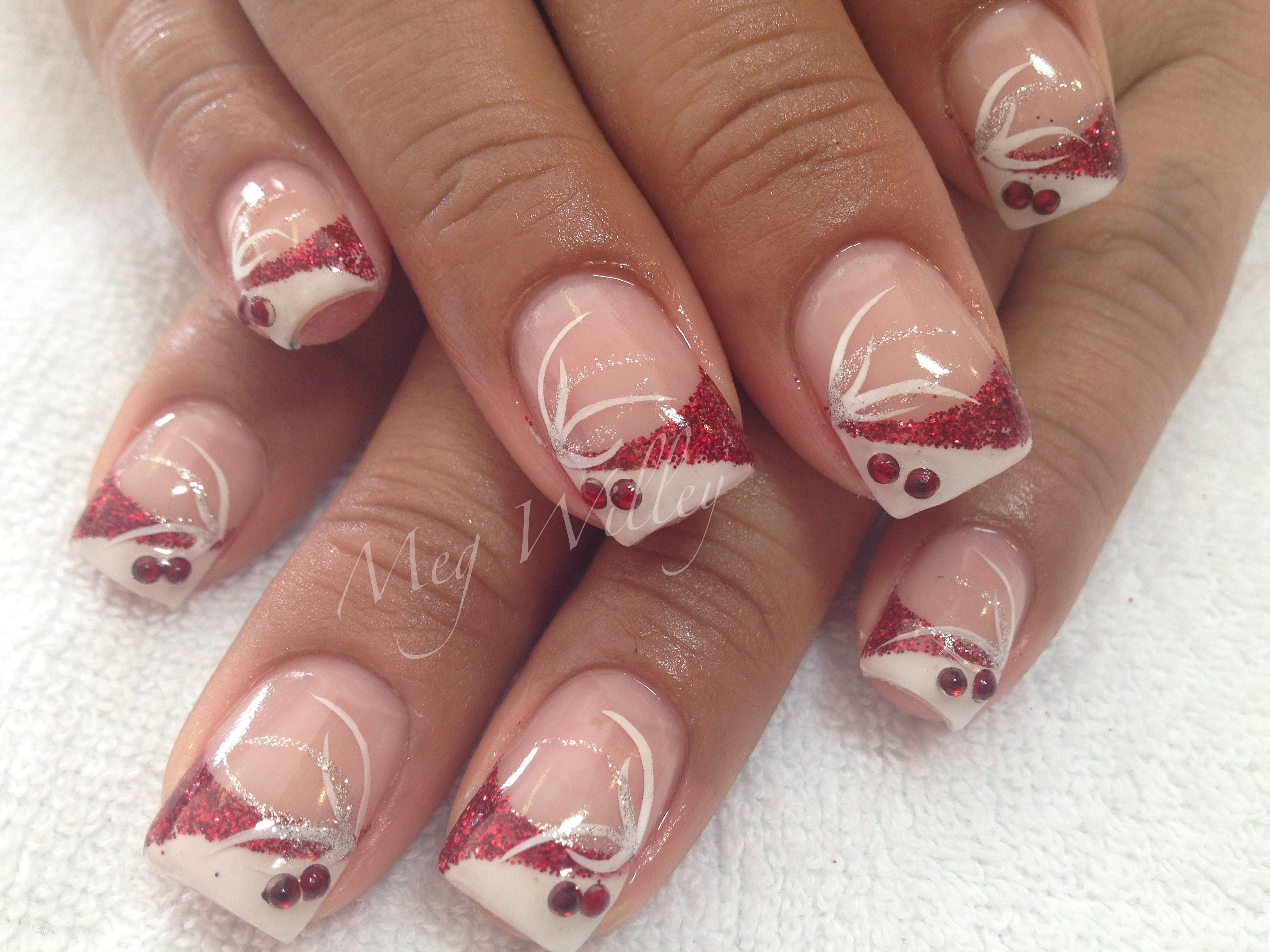 Valentines Twist Meg' Nail Design Arts Nails Art Galleries