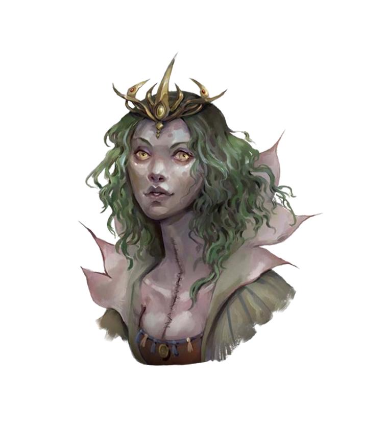 Female Lich Wizard - Arazni - Pathfinder PFRPG DND D&D 3 5