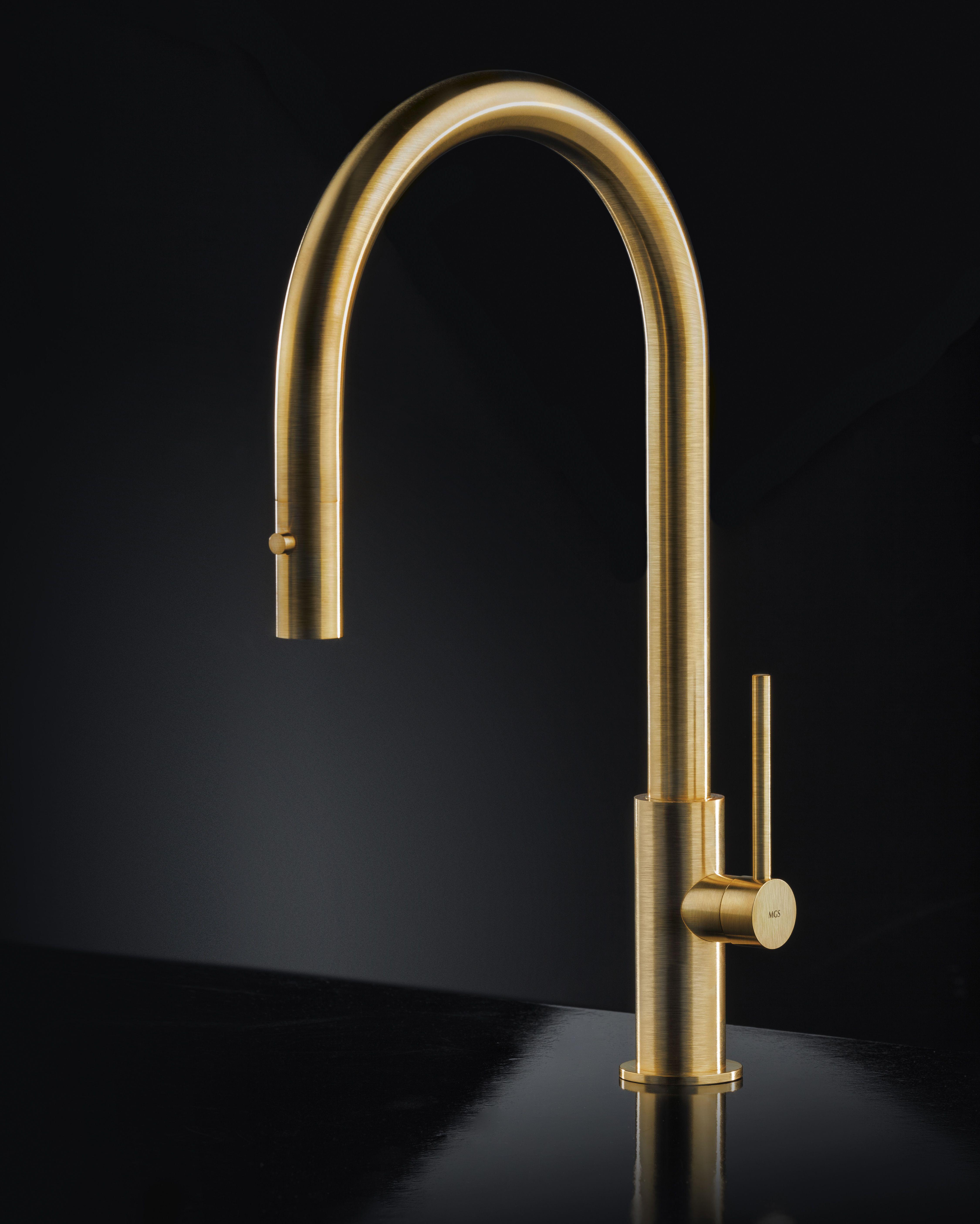 kit01 cea design finiture varie kitchen faucet home pinterest mgs keukenkraan spin d gold spinfaucetarchitectsnantes