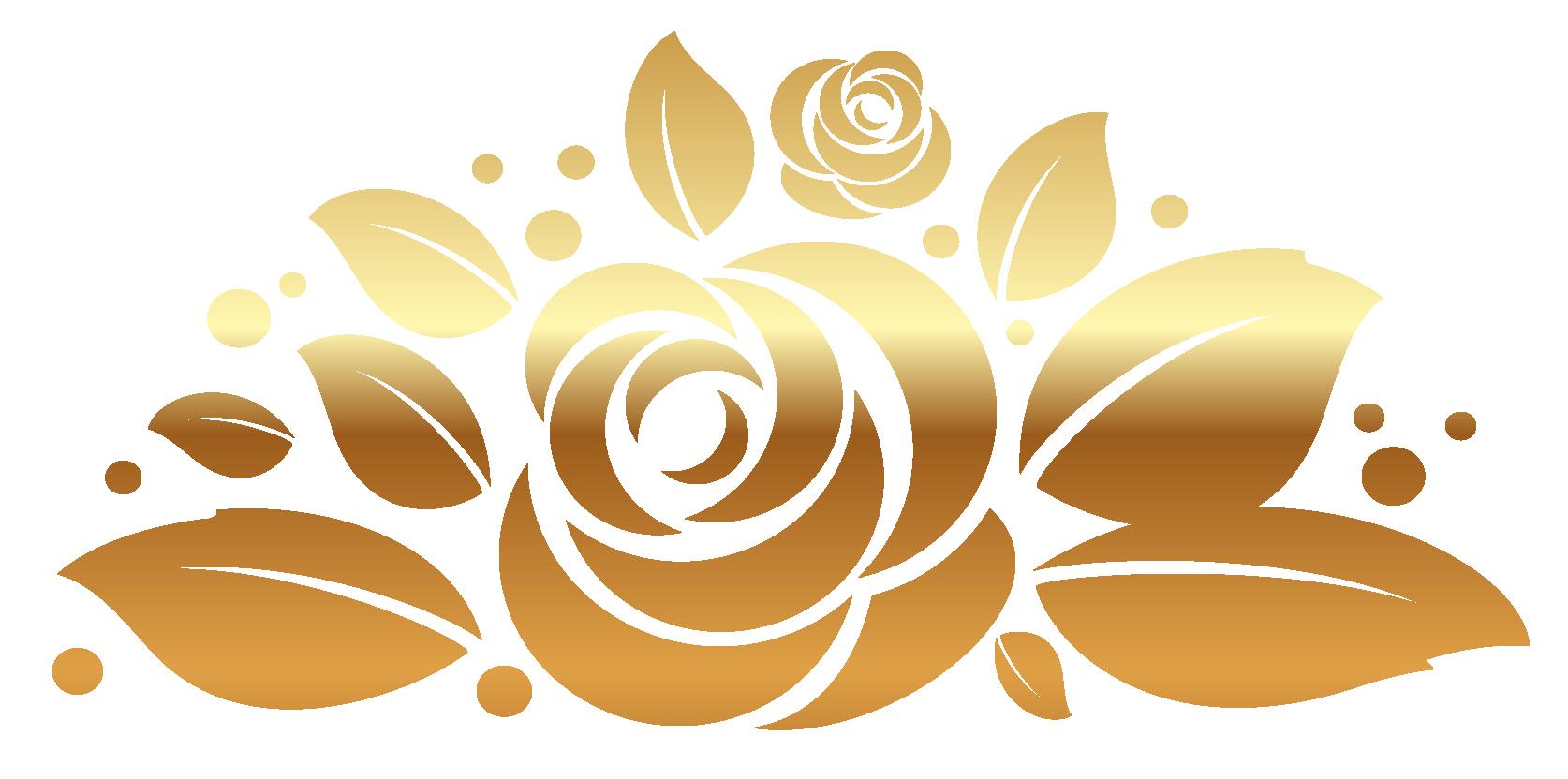 Gold Rose Clipart Clipartfest Rose Clipart Flower Art Clip Art