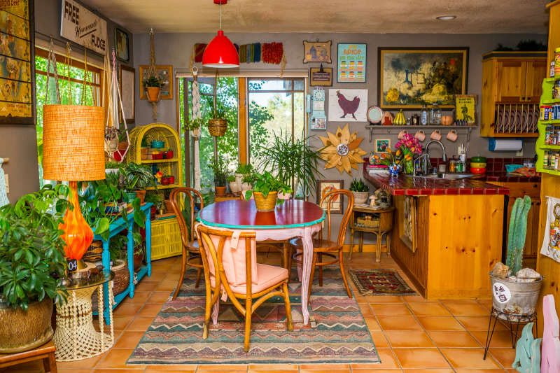 The Most Maximalist Bohemian Home Just Might Be on This Farm in Colorado is part of The Most Maximalist Bohemian Home Just Might Be On This Farm - city world for a slower pace of life on a 40acre farm with 3 dogs, 20 chickens and 2 ducks