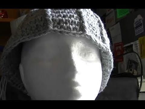 9f5f5f6ab86 Crochet beanie that is too big   How to rescue it  ) i seriously need to  watch this one! i made an ADORABLE hat and it s too big for me  (