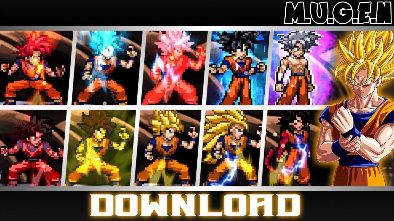 Dragon Ball Heroes Mugen En Espanol Pan Hero Dragon Ball Dragon