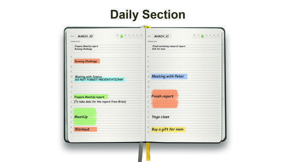 daily monthly planner