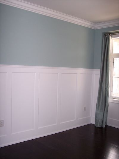"Recessed, Wall Paneled Wainscot Kit, 60"" High images"