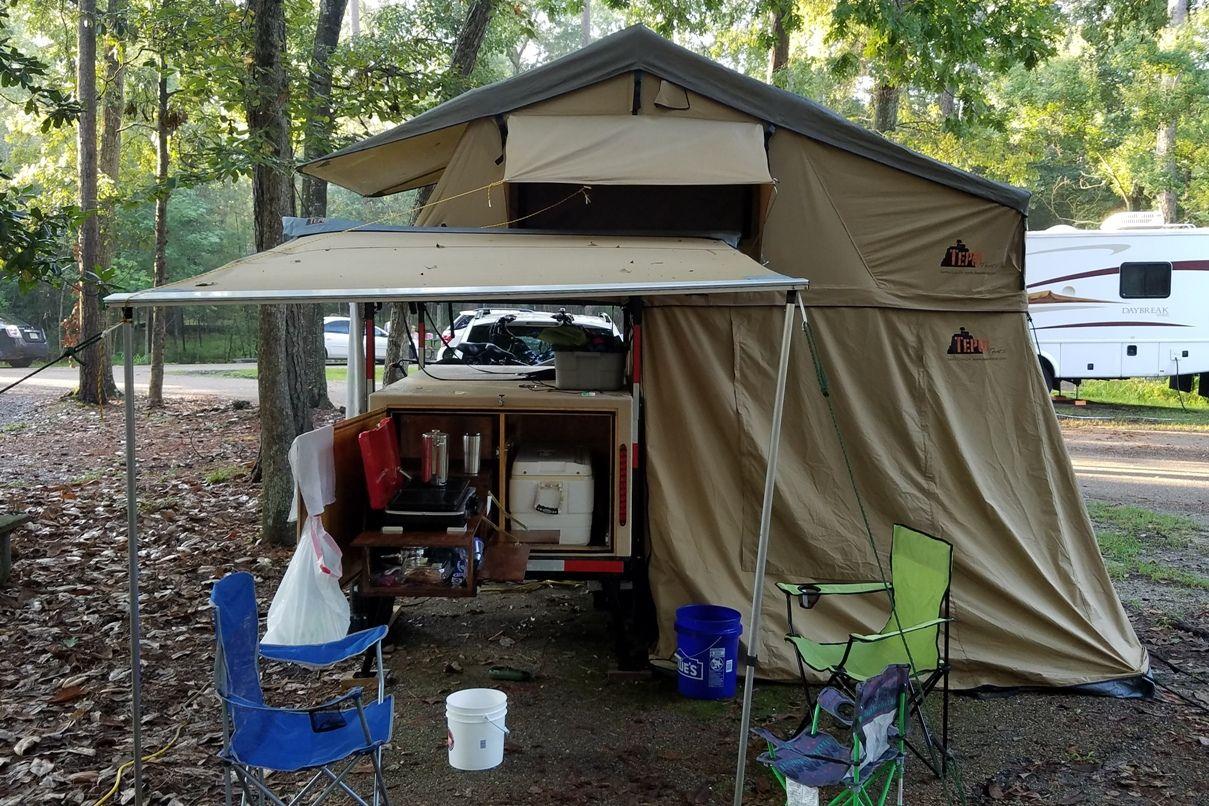 Compact Camping Trailer Camping Trailer Diy Camping Trailer Tent Awning