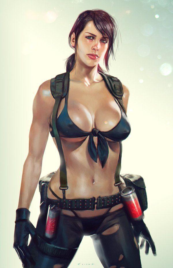 Quiet Metal Gear Rule 34