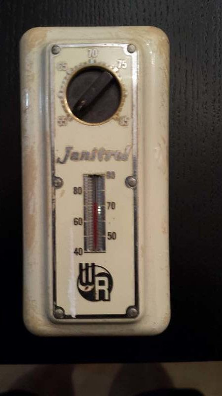 Vintage White Rodgers Thermostat Hvac Heating Systems Furnace