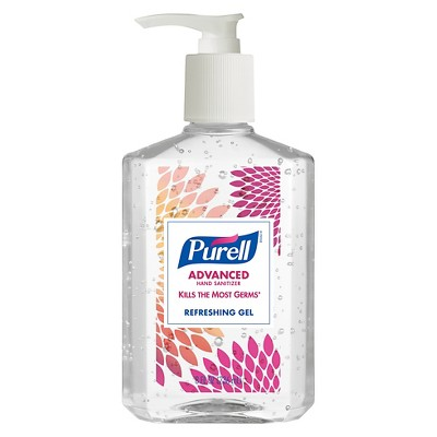 Purell Advanced Hand Sanitizer Refreshing Gel Design Series 4ct