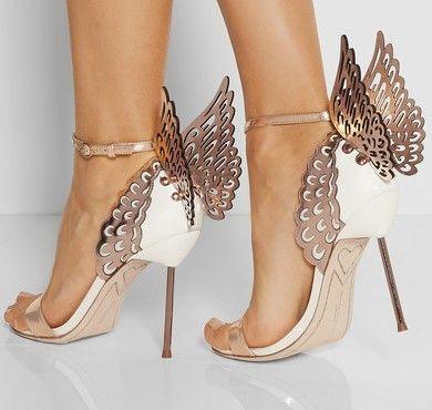 Chaussures de mariée : Sophia Webster #wedding #shoes