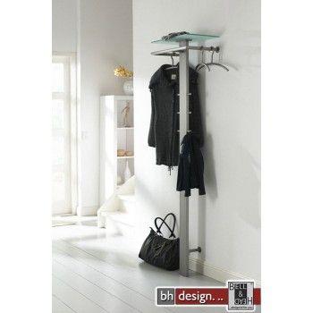 Carry Line Garderobe Aus Edelstahl Mit Hutablage Aus
