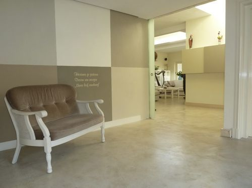 Perfectino Surface Coatings   Waxed Concrete Floor