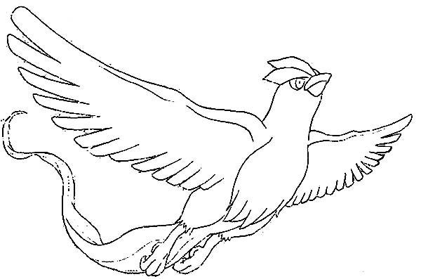 Articuno Picture Coloring Page Coloring Sun Coloring Pages Drawing Base Coloring Pictures