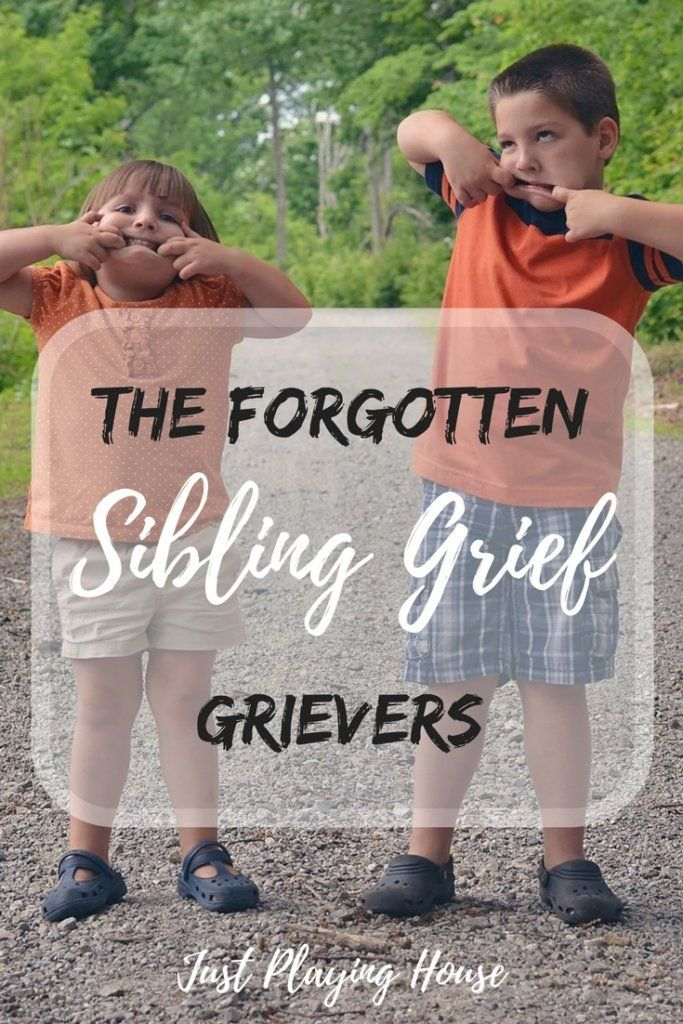 So much is unknown about sibling grief. They end up being the forgotten grievers.