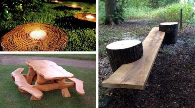9 Nietuzinkowych Pomysłów Na Drewniane Meble Diy Do Ogrodu Mebelki