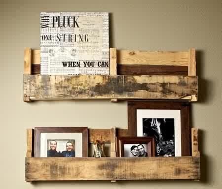 Up cycling old pallets