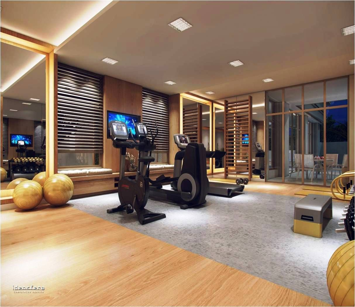 Home Gym Design, Basement Gym E Gym Room