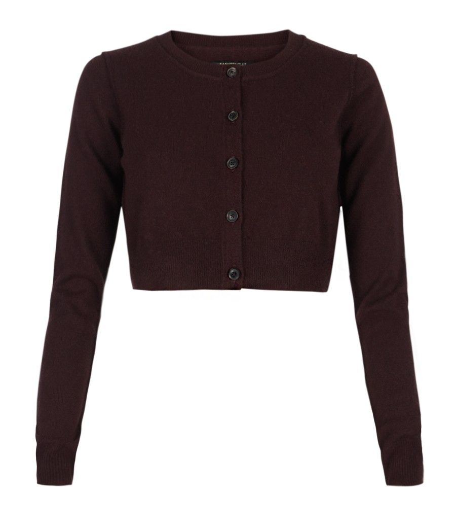 Char Cropped Cardigan from AllSaints Spitalfields -- its 100 ...