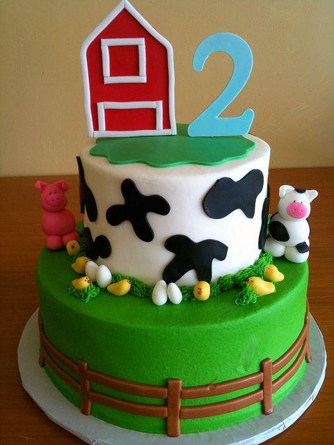 Farm Cake 2 By Dpasteles Shop San Antonio TX Via Flickr