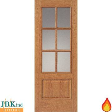 Jbk Royale Traditional 12 6vm Oak Veneer Door Is 12 Hour Fire Rated