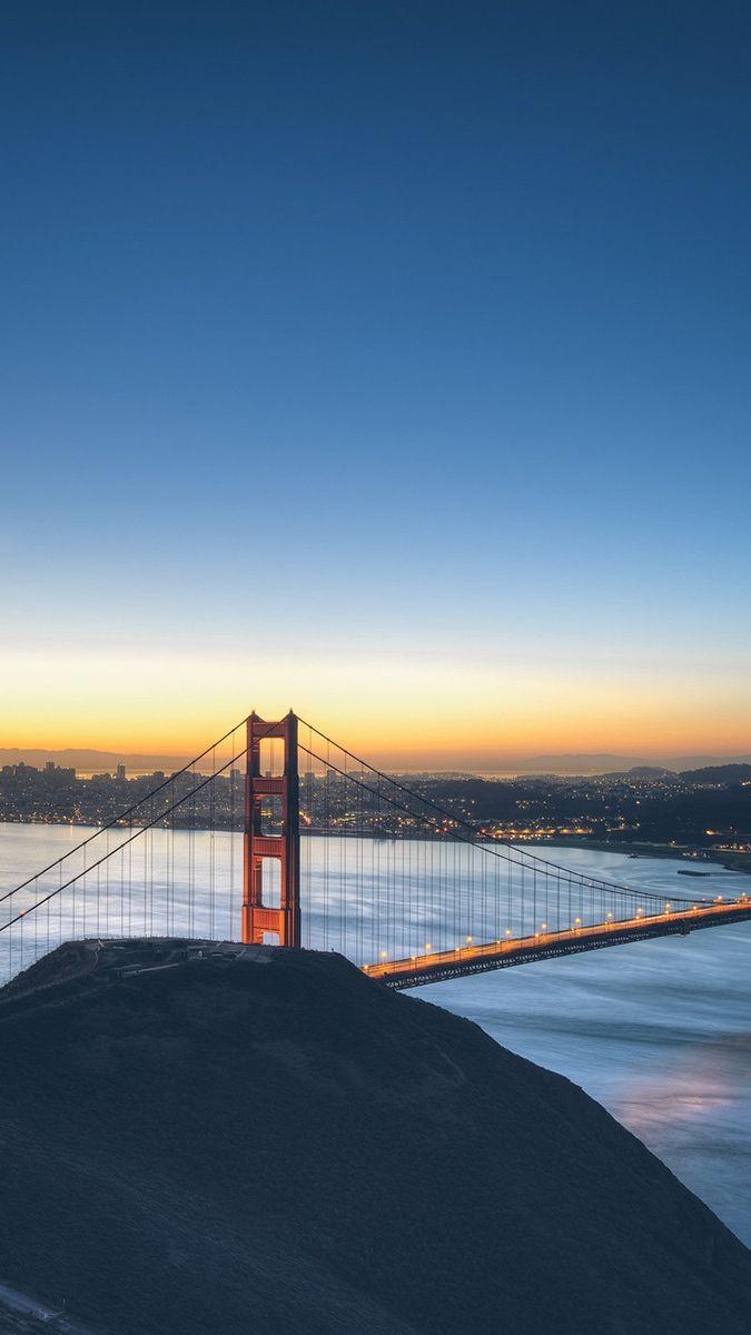 Golden Gate Bridge Sunset Iphone Wallpaper