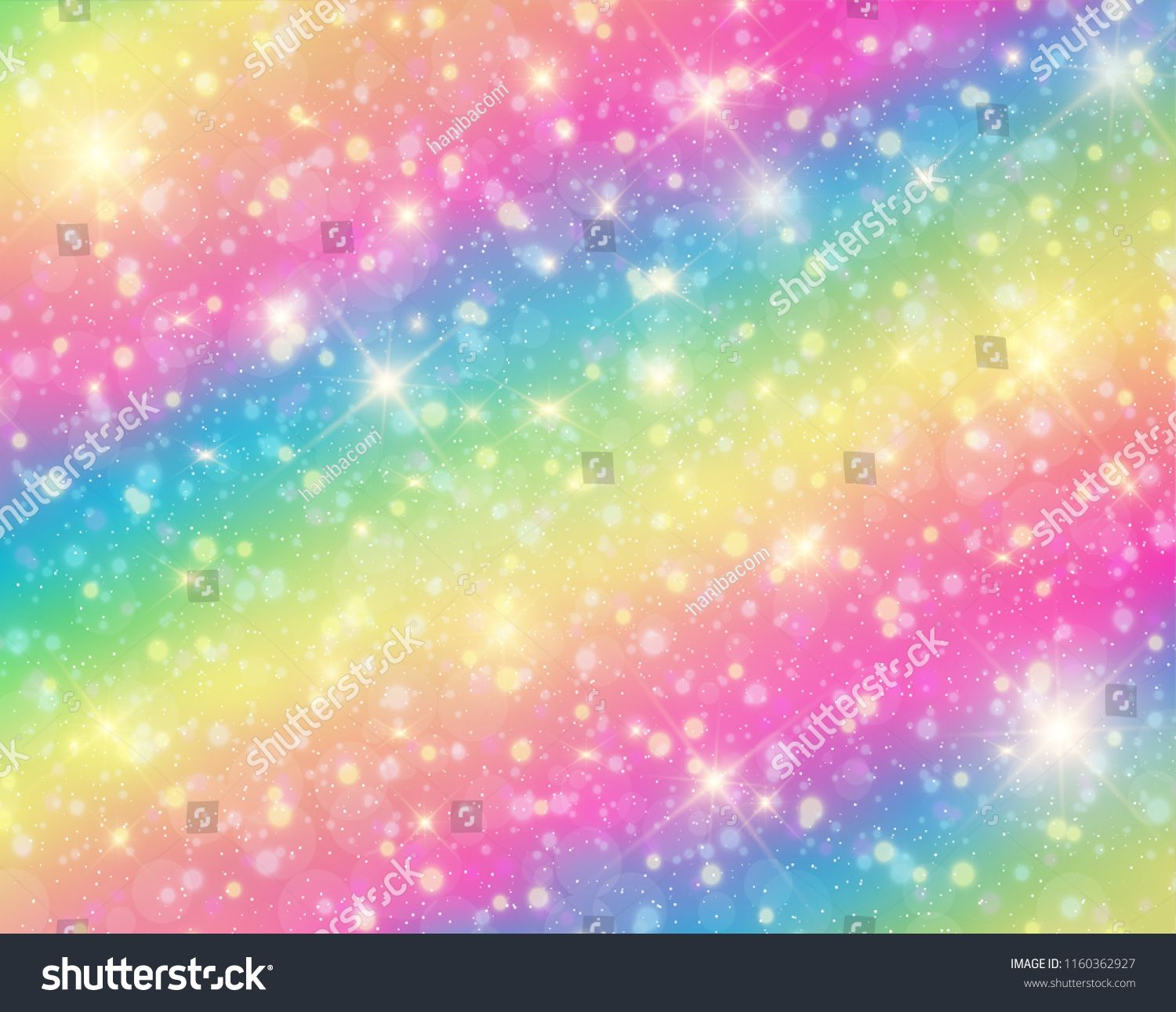 Vector Illustration Of Galaxy Fantasy Background And Pastel Color The Unicorn In Pastel Sky With Rainbow Fantasy Bac Fantasy Background Pastel Sky Map Design