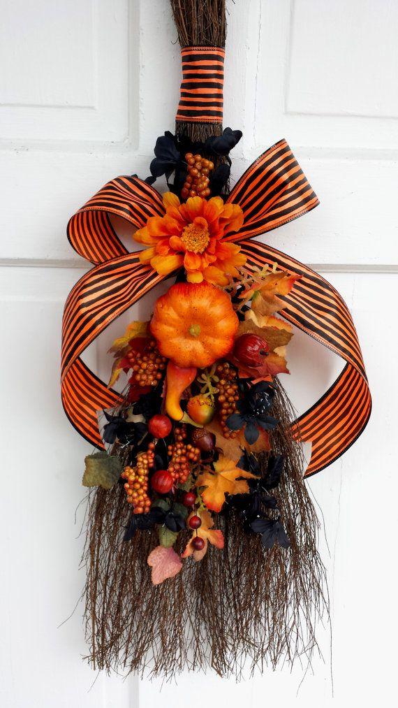Samhain Besom Samhain Broom Samhain Decoration Halloween Besom