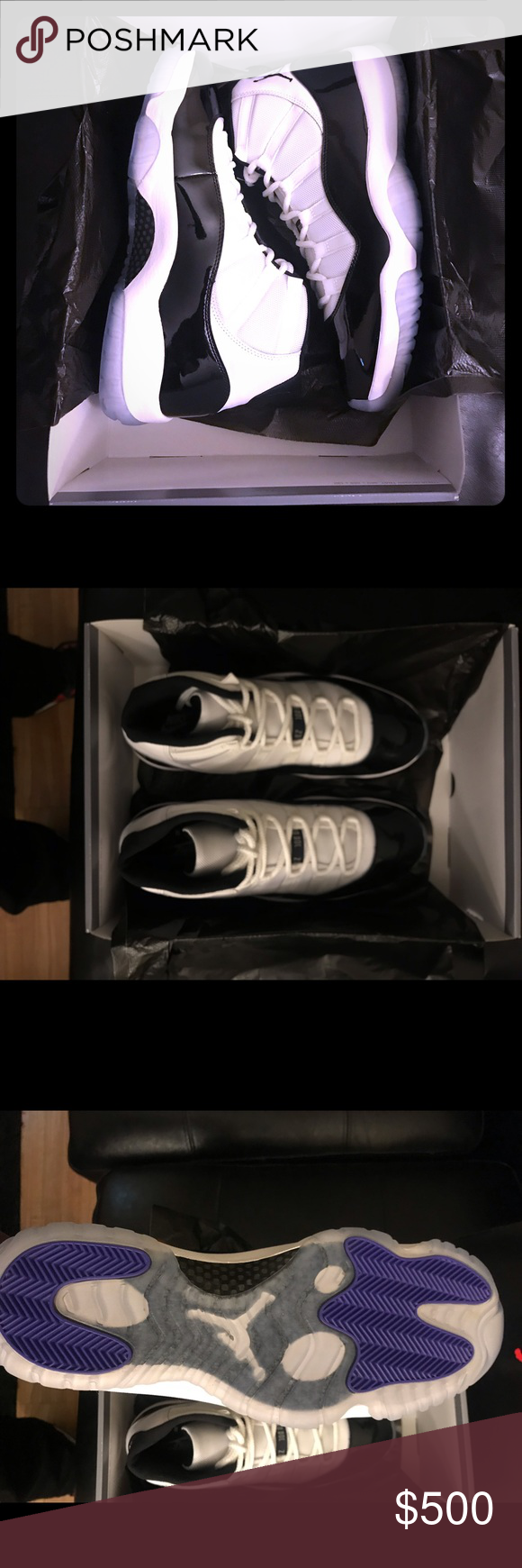 825942216af4e Jordan Concord 11 s Brand New Size 10   10.5 available Friday. Getting  shipped now from Footlocker and Champs. Comes with original box and  receipts.